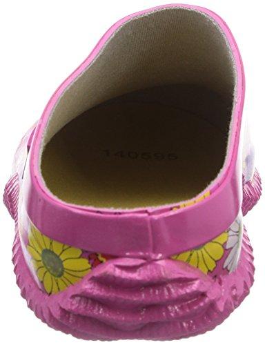 Chuva FLEUR TUINKLOMP RUB Damen Clogs Pink (Rosa(Roze) 07)