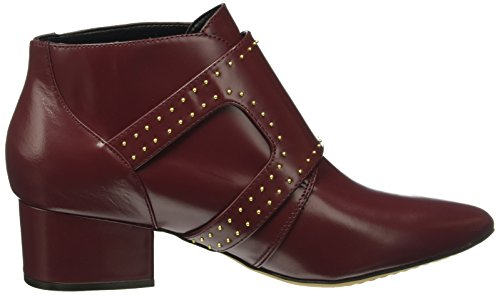 French Connection Damen Roree Kurzschaft Stiefel, Rot (Zinfandel 960), 40 EU