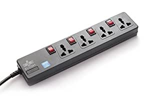 Elcom Spike Guard 4-universal sockets 4-switches