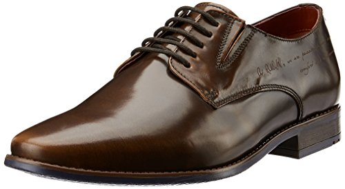 Ruosh Men's Brown Leather Formal Shoes