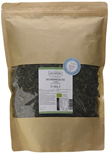 Bio-Brennnesselblätter-Tee 250g | Premium Qualität | Naturbelassen | Geschnittene Blätter (Brennessel Blätter)