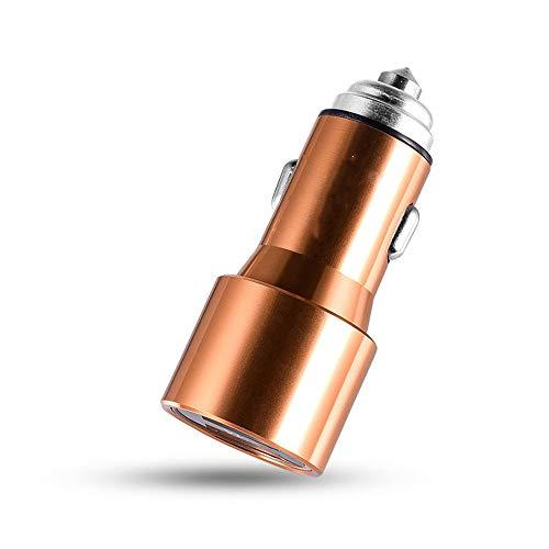 SHWCC Chargeur De Voiture, Charge De TéLéPhone De Chargeur De Voiture éLectronique Multifonctionnel De TéLéPhone De Double USB De SéCurité De Marteau