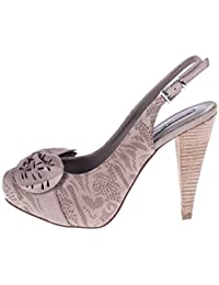 ROBERTO BOTELLA - Zapato correa al talon con adorno láser - Color Beige - Combi2 - Talla 40