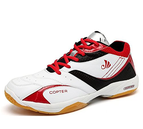 Huaishu Hommes Badminton Chaussures Sports de Plein Air Formation Chaussures Anti-Slip Wearable Léger Respirabilité Pratique Sports Randonnée Loisirs Alpiniste Escalade Chaussures