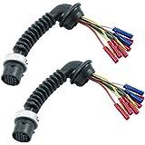 2x Reparatursatz Kabelbaum Kabelsatz Fahrzeugtür hinten links + rechts,