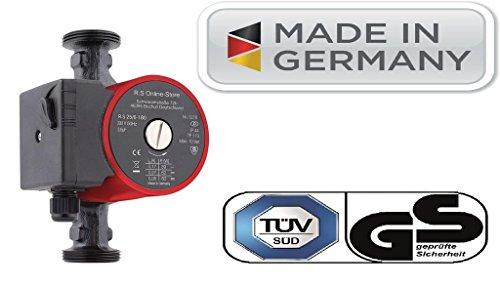 Verschraubungen Hocheffiziente Heizungspumpe//Umw/älzpumpe HST EP25-40//180mm mit Dichtungen u