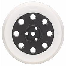 Bosch Professional 2608601118 Sanding pad Soft, 125 mm, Grey, White