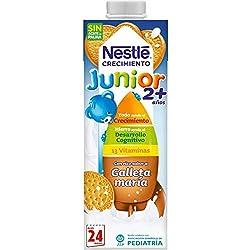 Nestlé Junior Crecimiento 2+galleta María Leche para niños a partir de 2 años - 1l