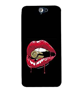Vizagbeats bullet in lips Back Case Cover for HTC One A9