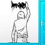 Hdehdiex61 Arte de la Calle y Arte de Graffiti de Sexo en Europa y América Pegatinas para el hogar...