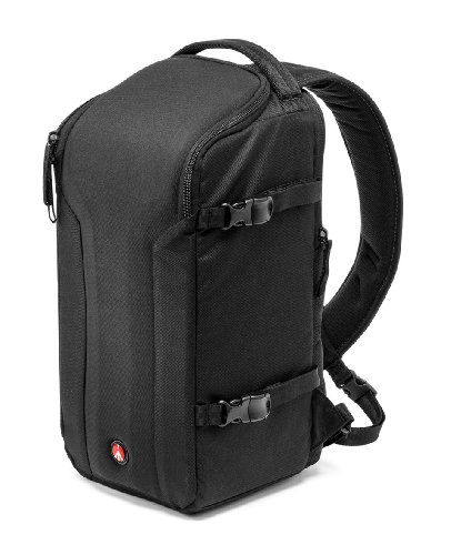 Foto Manfrotto MB MP-S-30BB PRO 30 Monospalla per Reflex Obbiettivi e Laptop, Nero/Antracite
