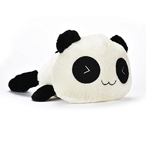 EAT Bambus Panda Plüsch Cute Liegen Panda Toys, mamum Cute Plüsch Puppe Spielzeug Stofftier Panda Kissen Qualität Nackenrolle Geschenk Einheitsgröße A(20cm) (Liege Nackenrolle Kissen)
