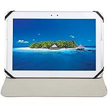 Custodia Cover Universale / Regolabile 10'' per Tablets come ARCHOS Arnova 9 G2 , MEDIACOM Smart Pad 1010i , Samsung Galaxy Tab 2 P5100 , HAMLET Zelig Pad 970H , HAMLET Zelig Pad 970H2 , HAMLET Zelig Pad 210 / 210G, HAMLET Zelig Pad 970H 3G , HAMLET Zelig Pad 410 / 410S , TREKSTOR SurfTab Ventos 10.1 , Mediacom Smart Pad 102 S2 , Archos 101 Titanium , ASUS MeMo Pad Smart ME301T-1A072A , ASUS MeMo Pad Smart ME301T-1B043A , ARCHOS 97 Xenon , ASUS Vivo Tab RT TF600T , Microsoft Surface , etc. (Nero) - Accessori per Tablet Danystar
