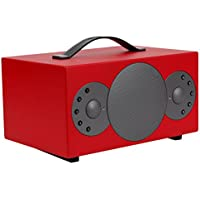 TIBO Sphere 4 Portable Wireless Bluetooth Multi-Room Speaker - Red