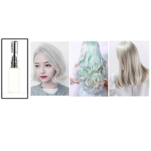 Gemini _ Mall® 13Farben Temporäre Haar Dye Mascara Hair Color Cream ungiftig DIY Haar (Spray Weiße Temporäre Haar)