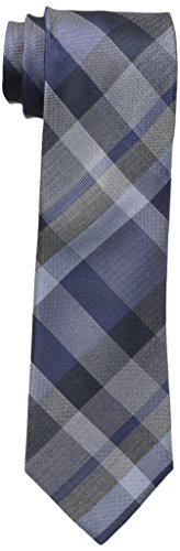 kenneth-cole-reaction-mens-lunar-plaid-tie-navy-one-size
