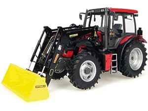 Universal Hobbies - UH2720 - Modélisme - Tracteur Kirovets K3180 ATM avec Chargeur Frontal