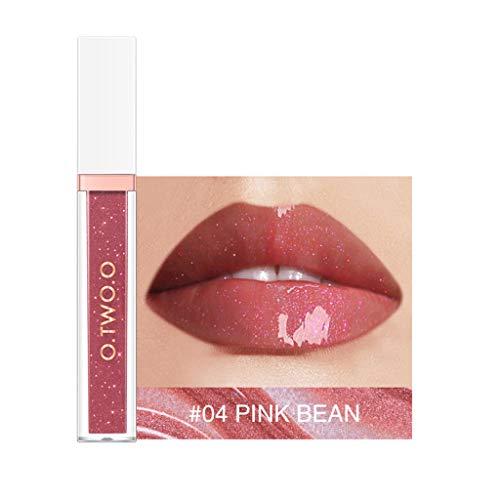7 High Shine Lip Gloss (TTLOVE Wasserdichte Langlebige FlüSsigkeit High Shine Lippenstift Lipgloss,Polarize Light Lipstick Makeup Lip Gloss Glitter Lippenpflege FüR Klare Hoch GläNzende Lippen Lippenstifte)