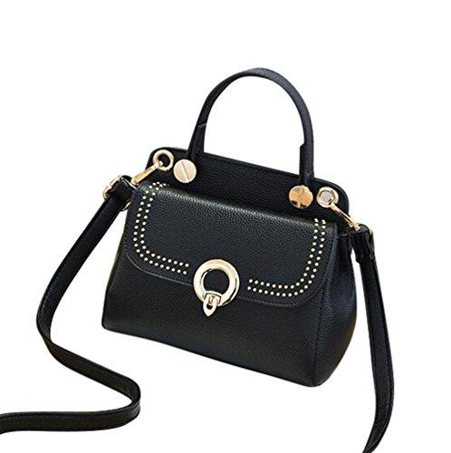 Baymate Mode Satchel Handtasche Damen Umhängetasche Messenger Bag