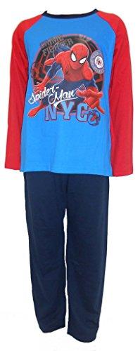 Spiderman Verbrechen-Kämpfer-Jungen-Pyjama 7-8 Jahre