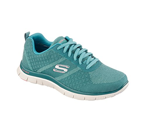 Skechers  Flex Appeal Simply Sweet, Sneakers Basses femme Turquoise