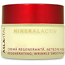 ASLAVITAL MINERALACTIV, Regenerating, Wrinkle Smoothing Cream Night Care (With Clay and Goji Berry Organic Extract) by ASLAVITAL MINERALACTIV