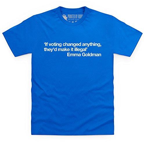 If Voting Changed Anything T-Shirt, Herren Royalblau