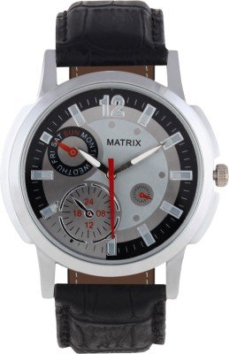 Matrix Analog Grey Dial Men's Watch - WCH-CH9  available at amazon for Rs.299