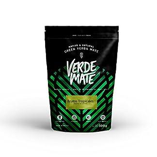 Verde-Mate-Green-Frutos-Tropicales-Mate-Tee-500g-Yerba-Mate-Grn-Tropische-Frchte-aus-Brasilien-Hohe-Qualitt-Groes-Paket-05-kg