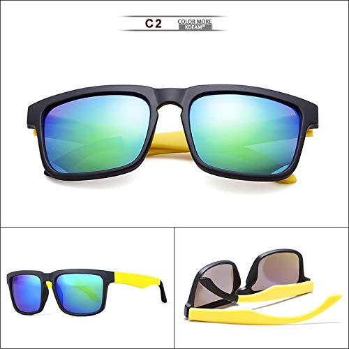 WWVAVA Sonnenbrillen 2019 New sunglasses men coating mirror Luxury brand designer sport sun glasses for driver and fishing coating mirror Lens,21