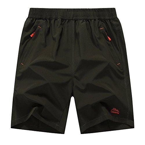 donhobo-Mens-Outdoor-Breather-Quick-Dry-Lightweight-Sports-Shorts-Zipper-Pockets