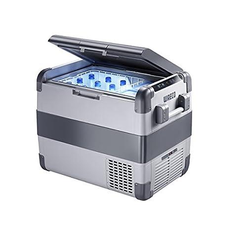 Dometic COOLFREEZE CFX 65W - Kompressor-Kühlbox, elektrische Gefrier-Box mit 12/24 und 230 Volt zum Anschluss im Zigarettenanzünder für PKW / LKW /Steckdose, tragbarer Mini-Kühlschrank, Fassungsvermögen ca. 60 Liter inkl. 13 Liter Frischefach, Kühlung von + 10 bis -22 °C, A++