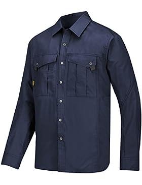 Snickers Workwear - Camicia da uomo, modello per il tempo libero XXL Blau - Navy