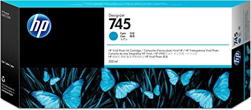 Hewlett Packard 936571 Cartouche d'encre d'origine compatible avec Imprimante DesignJet Z2600 24-in PostScript/DesignJet Z5600 44-in PostScript Cyan