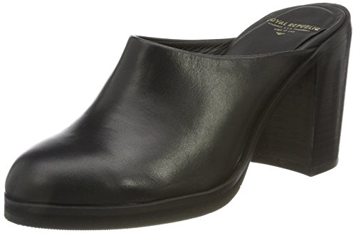 Royal Republiq Bridge Mule-Blk, Bottes Souples Femme