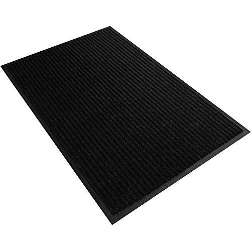 Preisvergleich Produktbild Schmutzfangmatte gerippt Schwarz 90x150cm Fußmatte Schmutzfangläufer Sauberlaufmatte Fußabtreter Türmatte Schmutzmatte