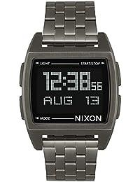 Nixon - Base 38 mm All Gunmetal - Reloj Unisex