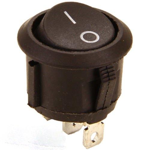 Preisvergleich Produktbild Kipp Wechsel Schalter ON-OFF 12 24 V Volt Kill Switch Auto KFZ schwarz ein aus