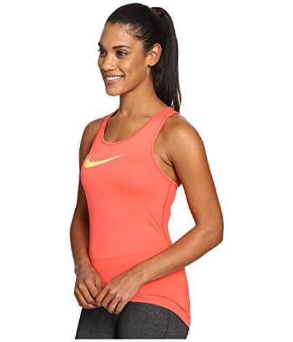 Nike Damen Tanktop pro Cool Ember Glow/Peach Cream
