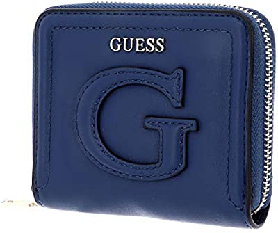Guess Chrissy SLG Small Zip Around Navy