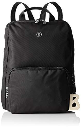 Bogner Damen Verbier Maxi Backpack Mvz Rucksack, Schwarz (Black), 4x32x27 cm