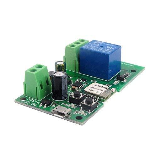 MHCOZY WiFi Wireless Inching Relais Haupt/Selbstsichernde Switch Modul DIY  Smart Home Fernbedienung DC 5-32V Ewelink App Kompatibel mit Alexa Echo
