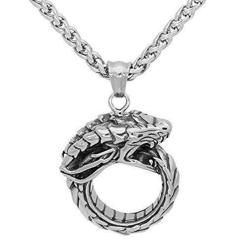 Jewelry & Accessories Gentle Vikingceltic 316l Stainless Steel Viking Wolf Animal Keychain Special Buy