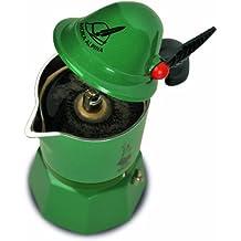 Bialetti 2762/MR - Cafetera italiana, color verde