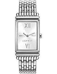Esprit Damen-Armbanduhr ES VICKI SILVER Analog Quarz Edelstahl ES108492001