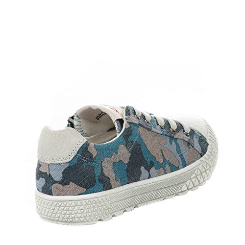Chaussures à lacet garçon - PLDM - Bleu - TUDY PRINT - Millim Bleu