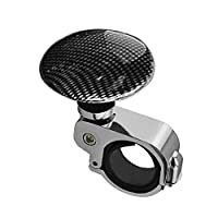 Car Styling Platinum Power Handle Steering Wheel Metal Assisted Ball Booster Spin Knob Clamp Fit For Universal Cars