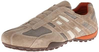 Geox Uomo Snake L, Sneakers Basses homme, Beige (C0845), 39 EU