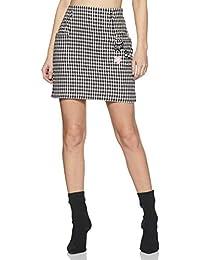 Honey by Pantaloons Women's Polyester Regular Fit Skirt