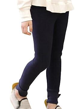 Pantaloni Ragazze Pantacollant Leggings Lungo Opaco Leggins Elastici Pantaloni Caldo